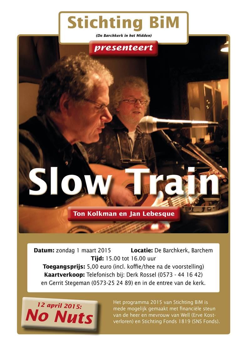 Flyer Slow Train
